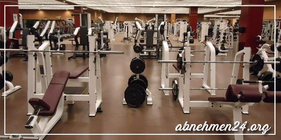 10 Kilo abnehmen Fitnessstudio