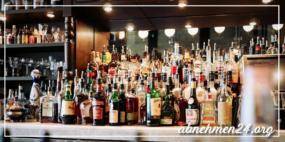 Abnehmfalle 5 Alkohol