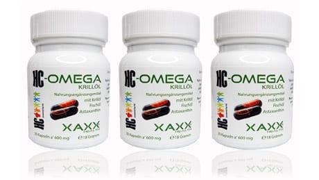 HC Bodycontrol Omega 3 Krillöl